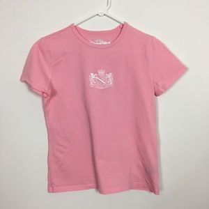 Pink Polo active sports short sleeve tee shirt
